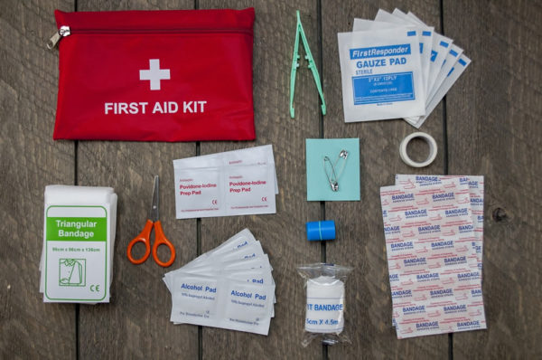 NWGear Eldorado Survival Kit first aid contents
