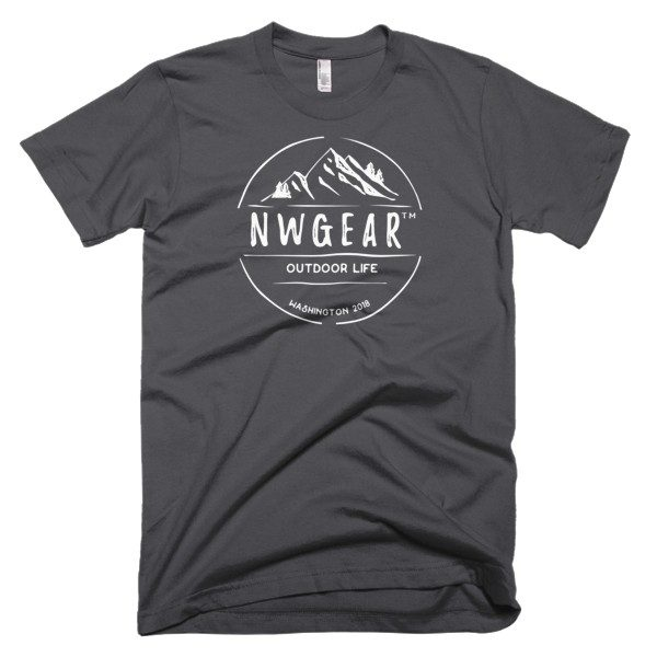 Asphalt Outdoor Life Men's T-Shirt by NWGear