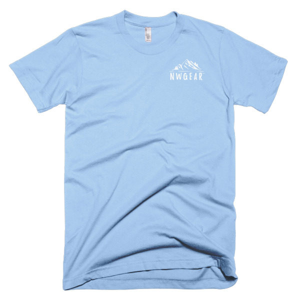 Baby Blue Men's T-Shirt by NWGear