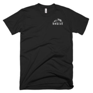 Black Men's T-Shirt by NWGear