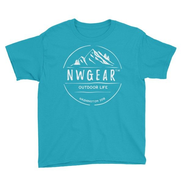 Caribbean Blue Outdoor Life Youth's T-Shirt by NWGear