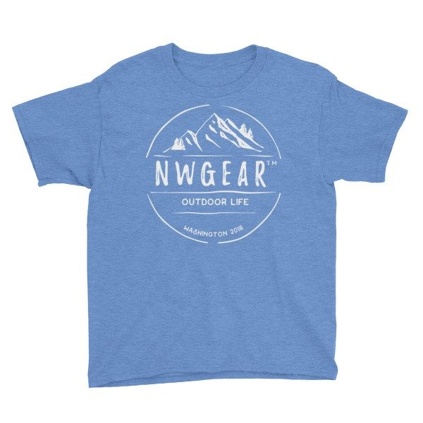Heather Royal Outdoor Life Youth's T-Shirt by NWGear