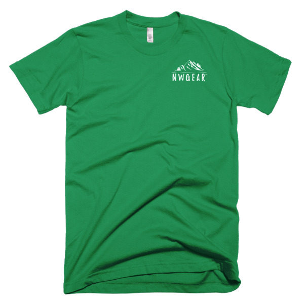 Kelly Green Outdoor Life Men's T-Shirt by NWGear