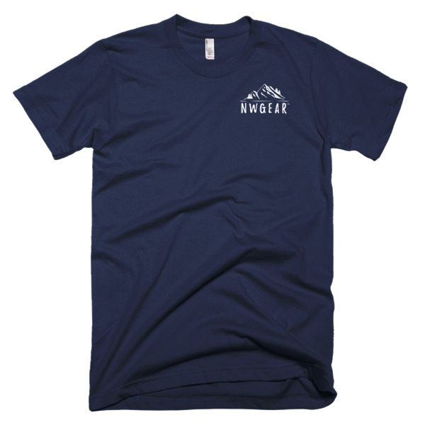 Navy Men's T-Shirt by NWGear