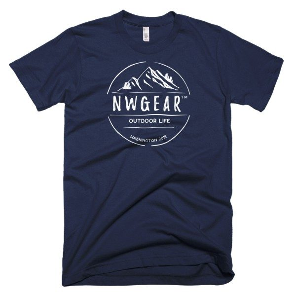 Navy Outdoor Life Men's T-Shirt by NWGear