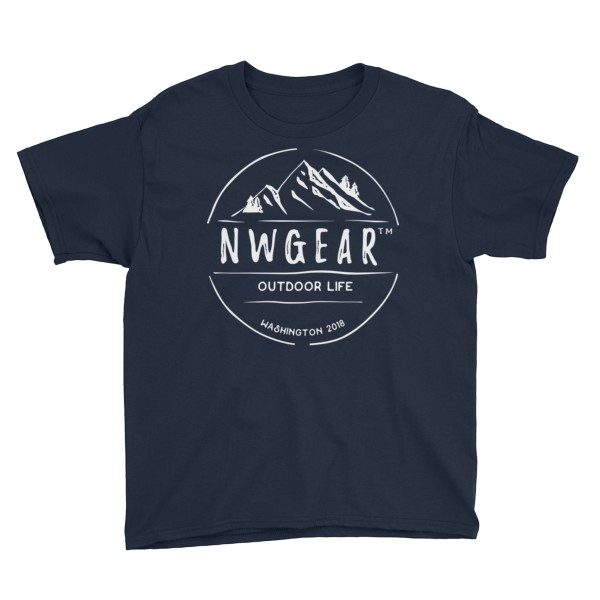 Navy Outdoor Life Youth's T-Shirt by NWGear