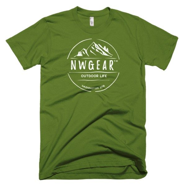 Olive Outdoor Life Men's T-Shirt by NWGear