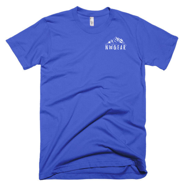 Royal Blue Men's T-Shirt by NWGear