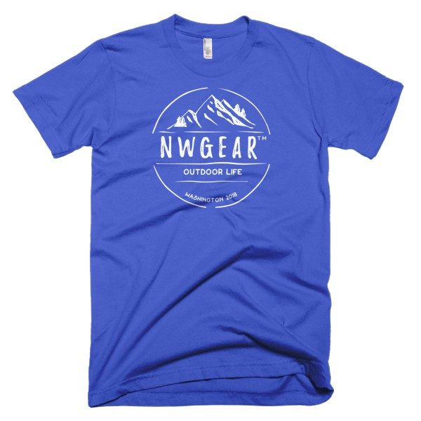 Royal Blue Outdoor Life Men's T-Shirt by NWGear