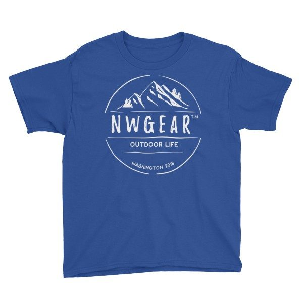Royal Blue Outdoor Life Youth's T-Shirt by NWGear