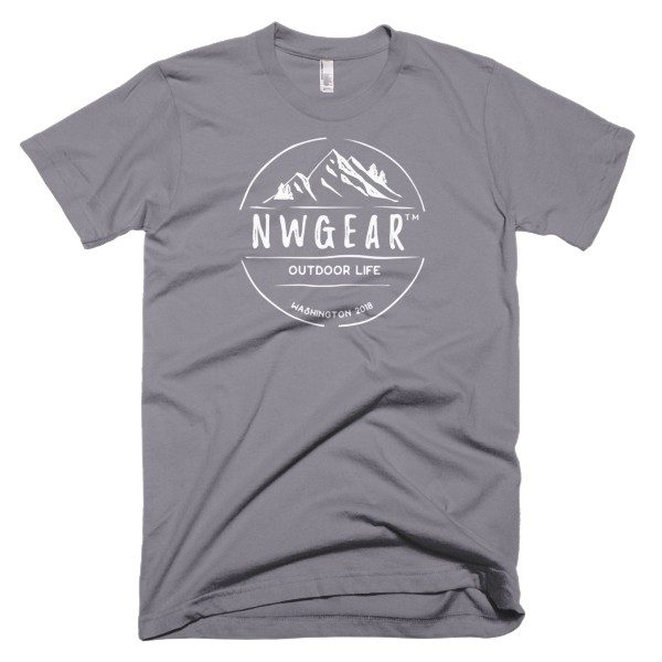 Slate Outdoor Life Men's T-Shirt by NWGear