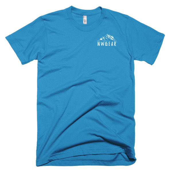 Teal Men's T-Shirt by NWGear