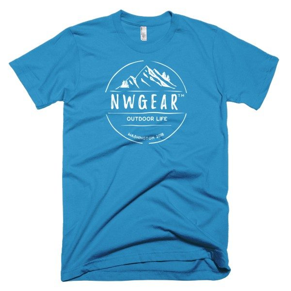 Teal Outdoor Life Men's T-Shirt by NWGear